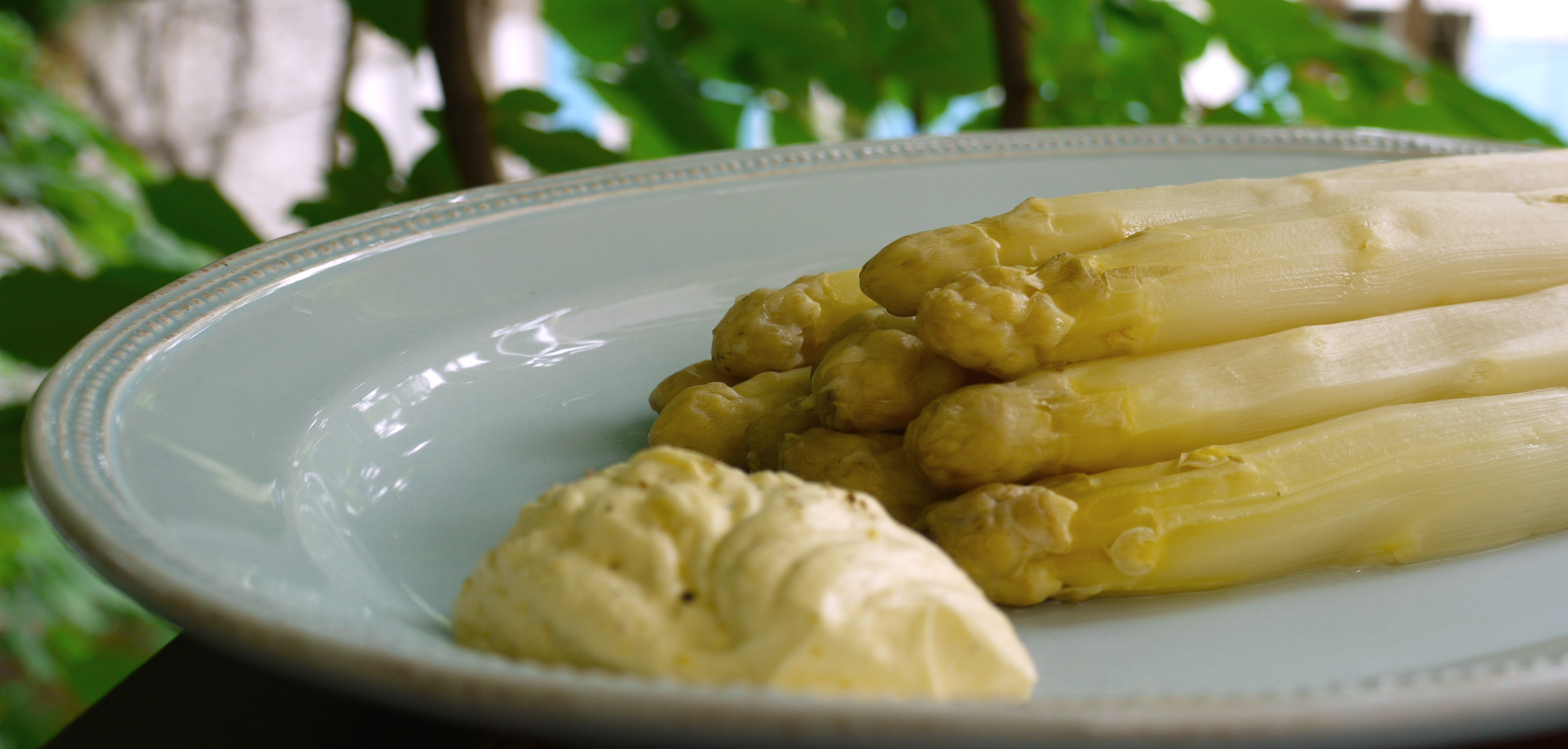 Asperges sauce mousseline - Cuisiner des asperges fraiches ...