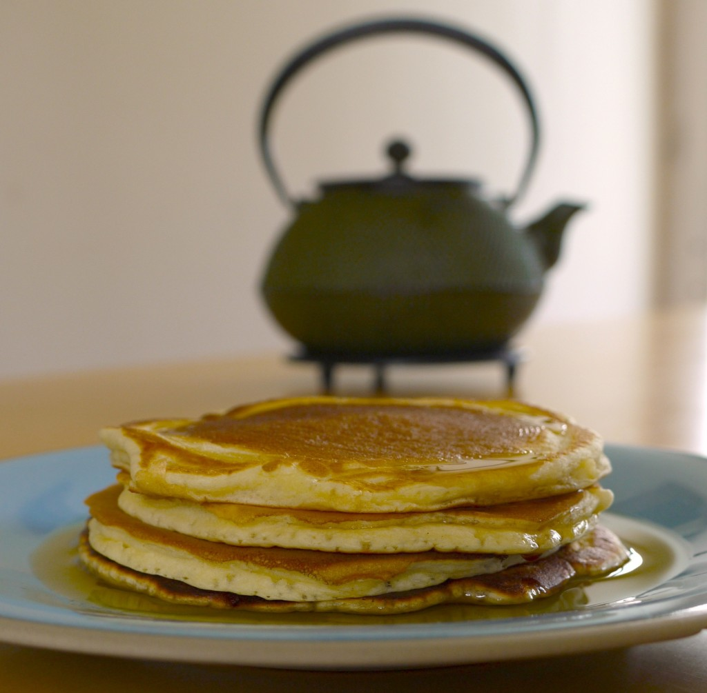 P1010523bis 1024x1005 Brunch again   Œufs cocotte au saumon & Pancakes