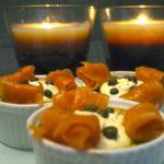 Mousse de courgettes à la crème de Kiri et au saumon fumé