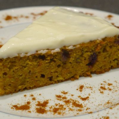 Carrot cake glaçage au fromage frais