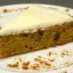 Carrot cake (gâteau à la carotte)