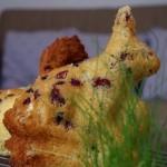 Gâteau « tôt-fait » de ma grand mère aux cranberries
