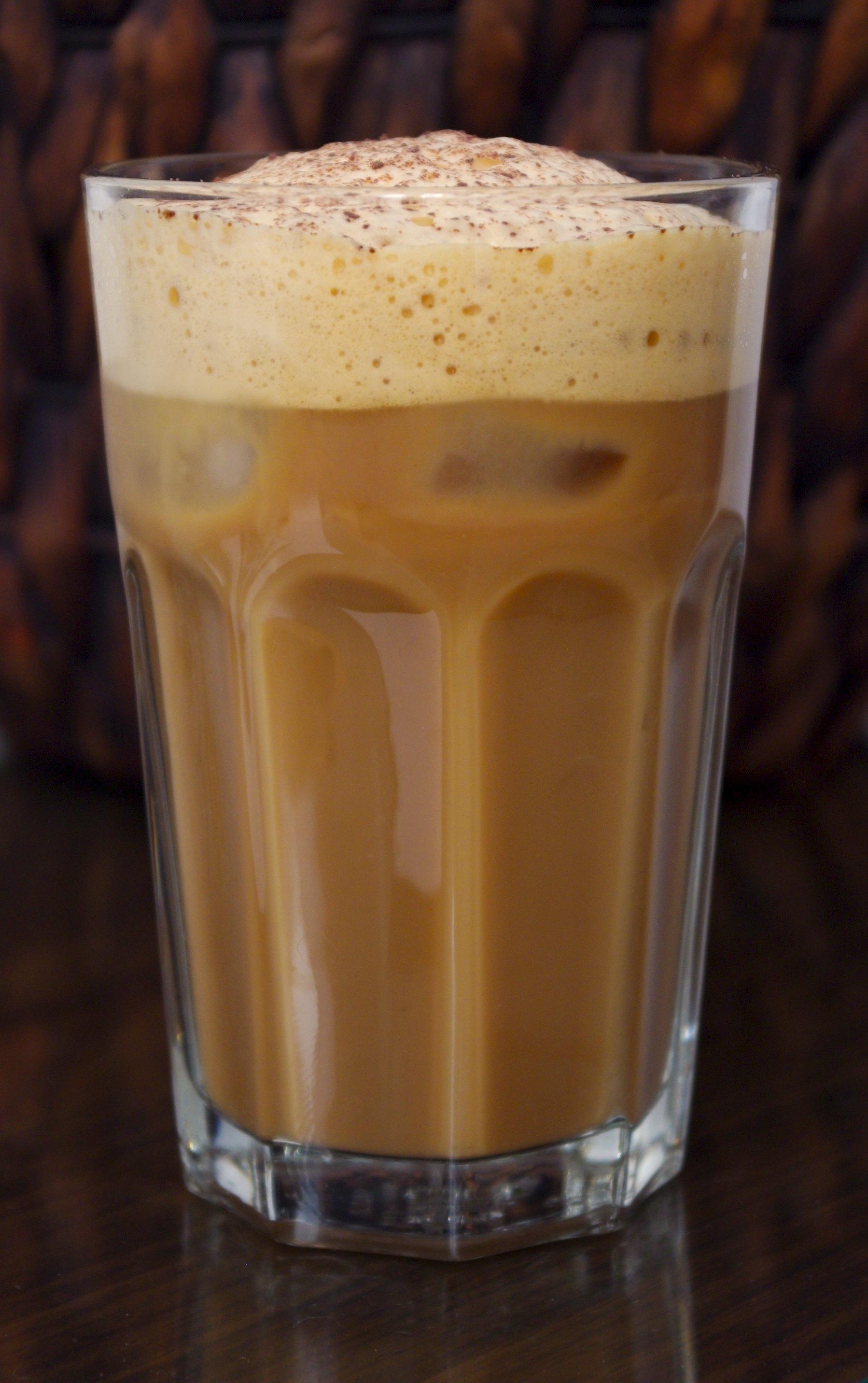 café frappé à la grecque