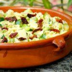 Salade de pâtes courgettes/citron