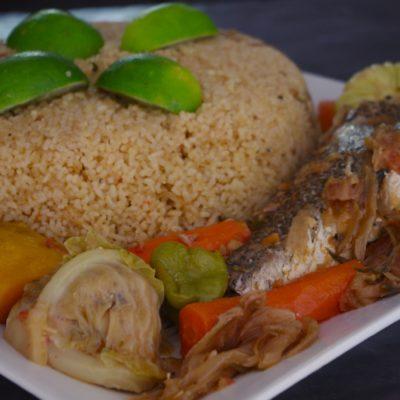 Tiep bou dien (riz au poisson sénégalais)