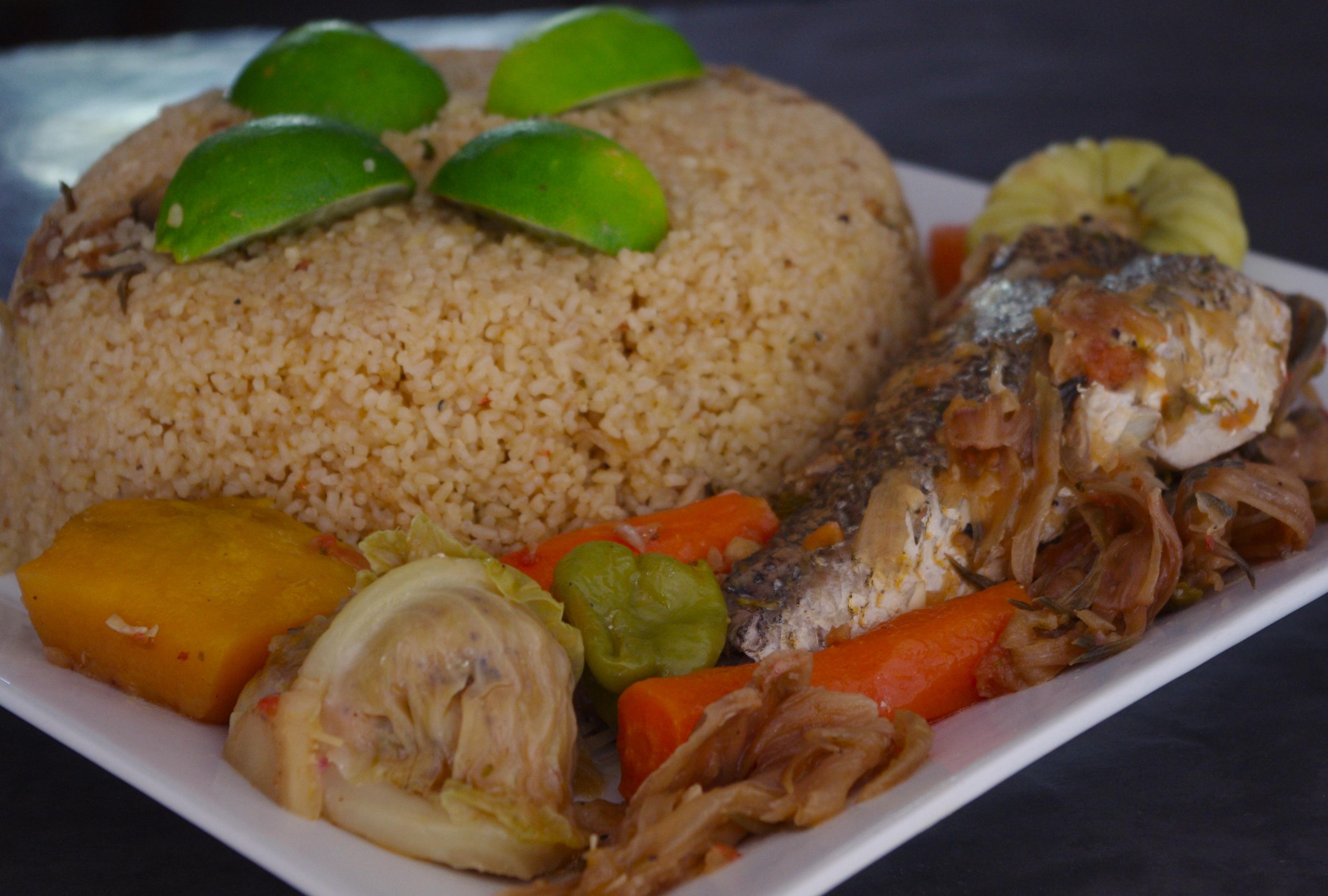 Tiep bou dien - Repas de noel africain ...