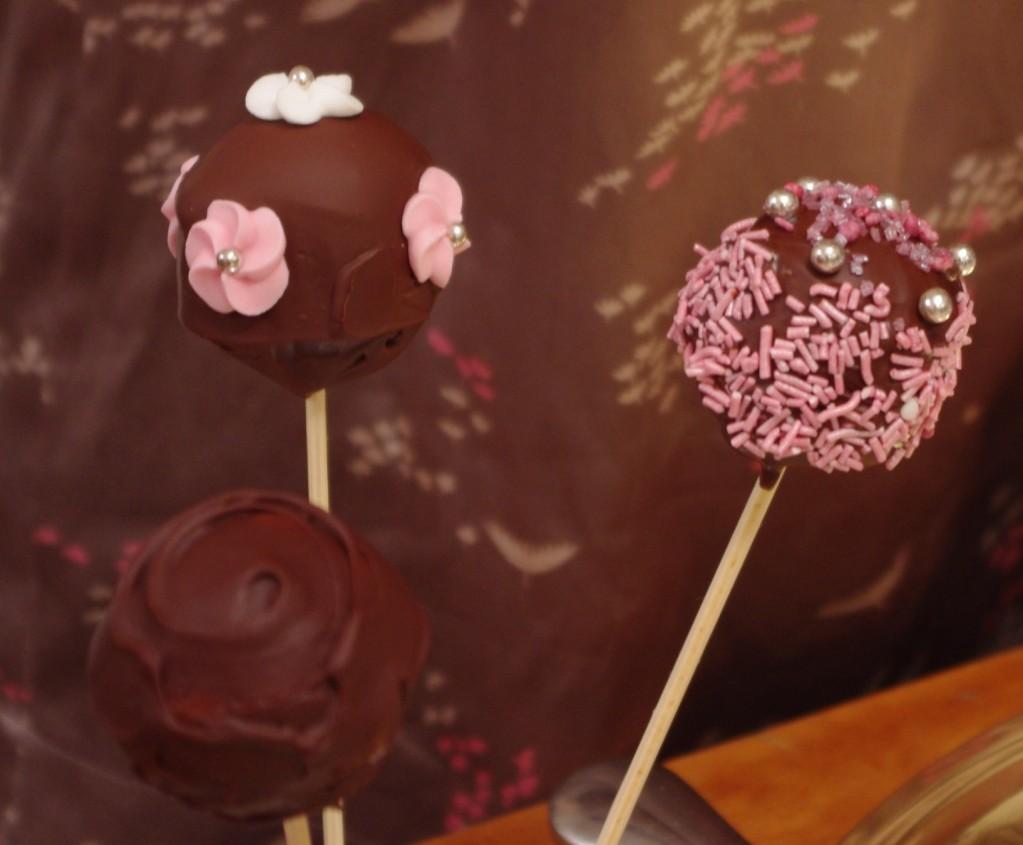 IMGP1335bis 1023x845 Un diner presque parfait #1   Lanimation   Cake pops chocolat et biscuits rose de Reims