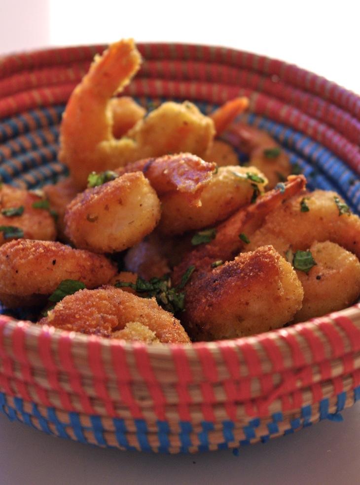 beignets crevettes epices Curiosité culinaire   Beignets de crevettes épicés