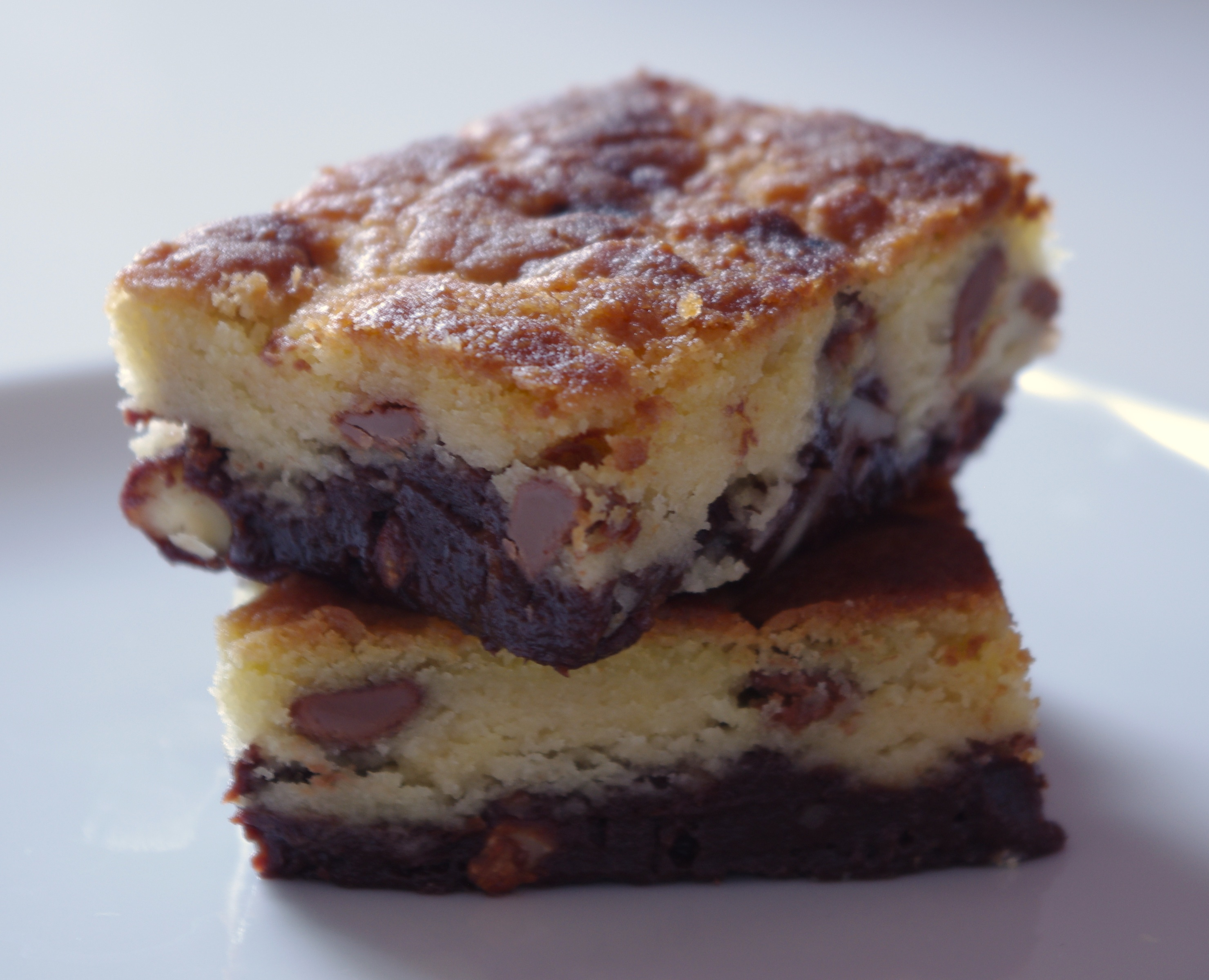 Brookies (gâteau mi-brownie, mi-cookies)