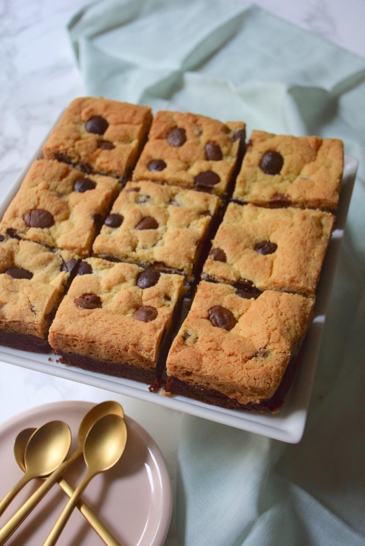 Brookies mi-cookies mi-brownies