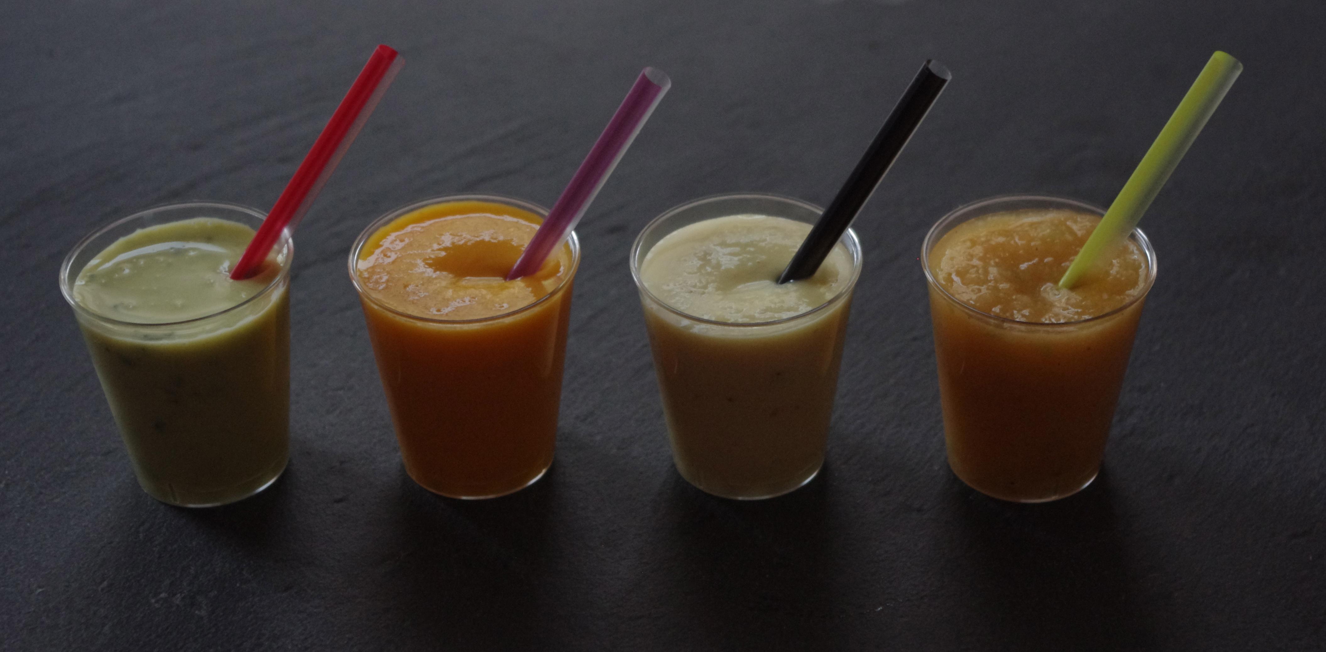 Soupe de carotte à l'orange et au cumin