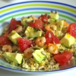 salade cereales avocat pamplemousse 150x150 Salades