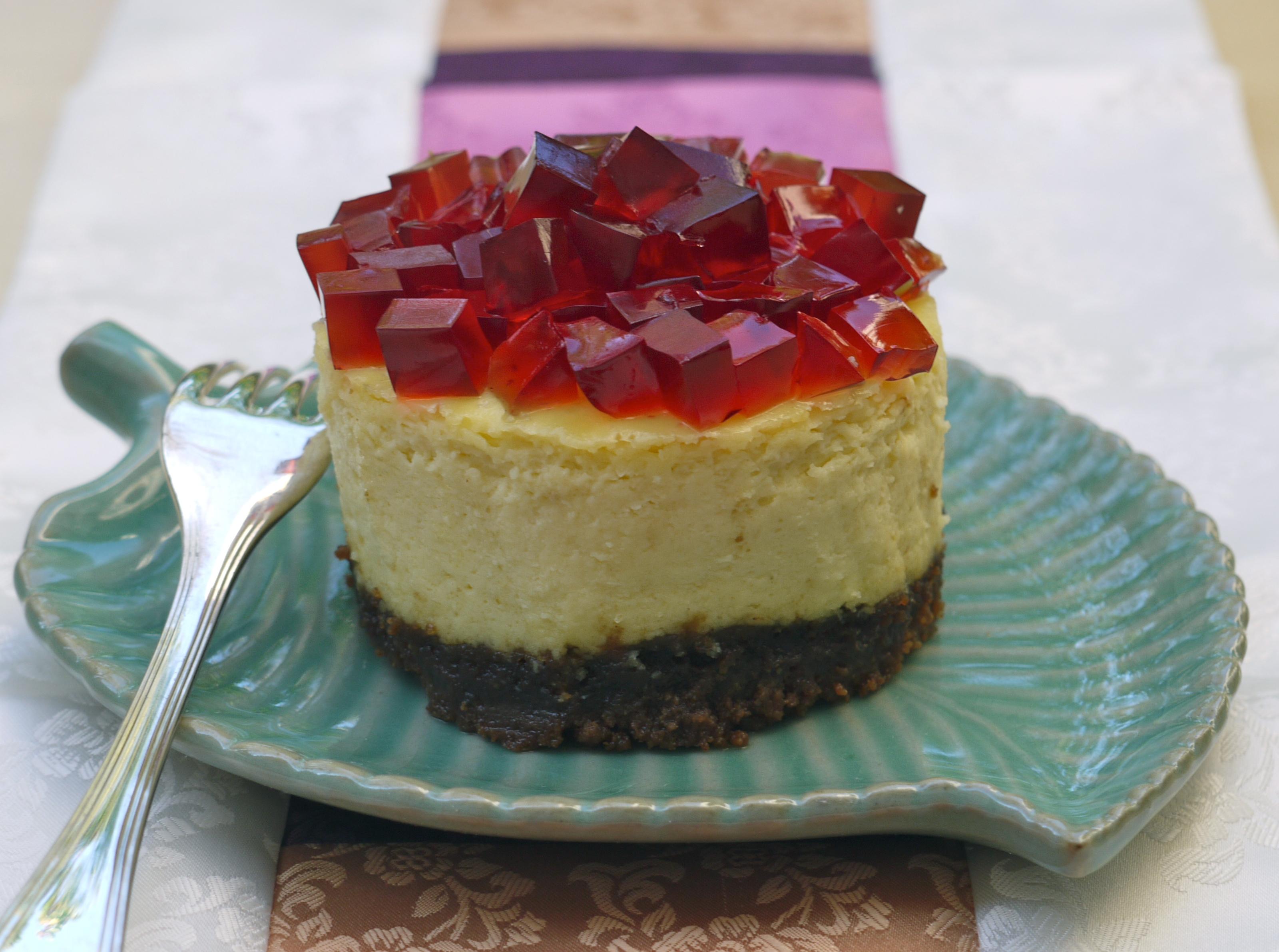 Cheesecake à la gelée d'Omijacha