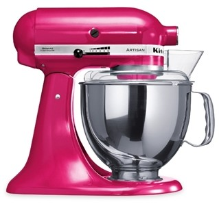 Kitchenaid-Robot-multifonction-Artisan-framboise
