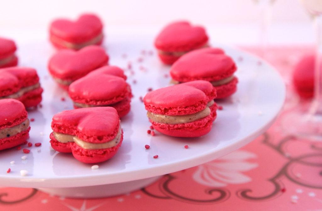 DPP 058 1024x671 Love is in the air #2   Macarons cœur à la réglisse