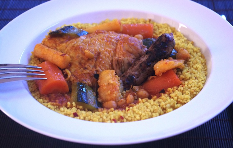 Couscous facile Retour de Marrakech #1   Couscous traditionnel facile