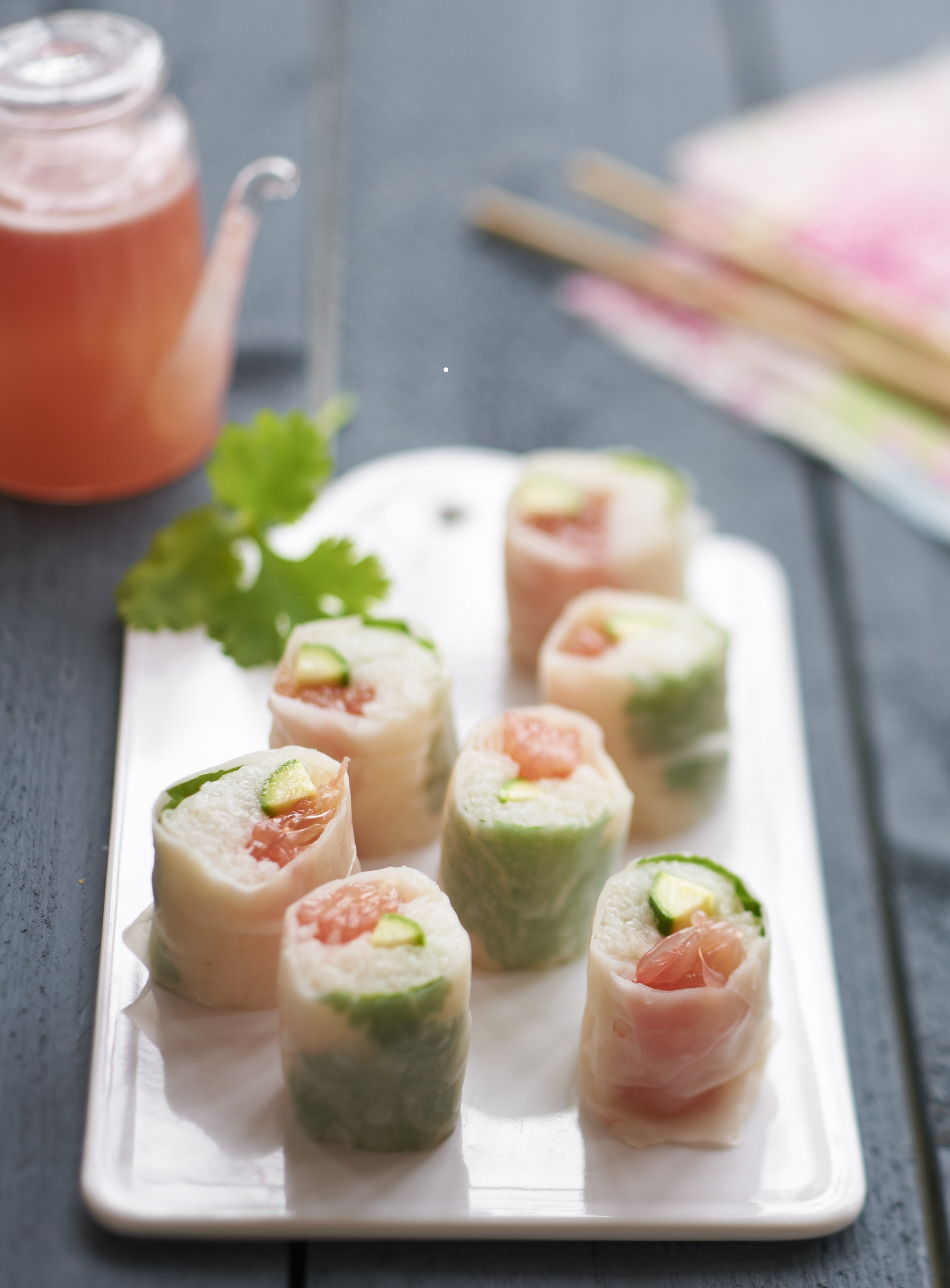 Makis de pamplemousse de Floride