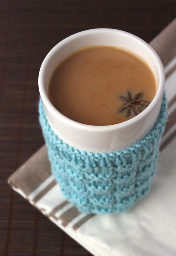 massala chai latte épices lait thé noir