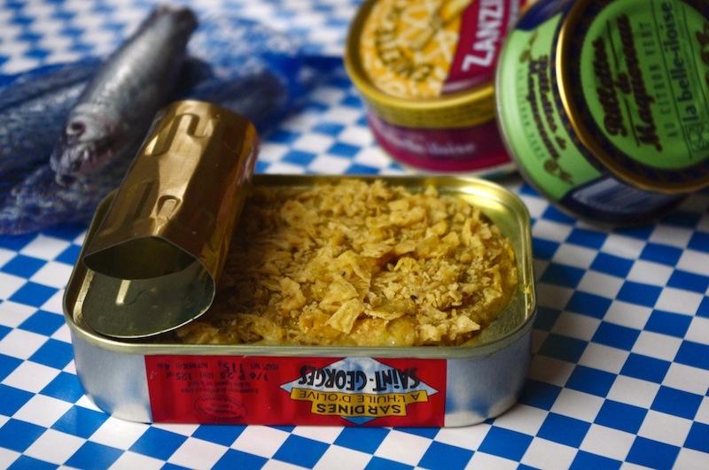 purée croustillante sardines courgettes pomme de terre la belle iloise