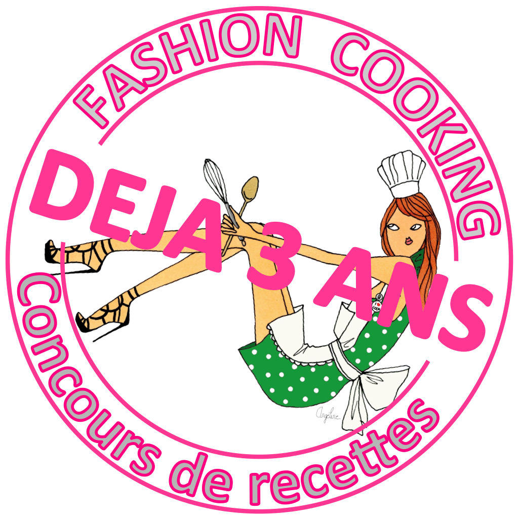 Concours recettes Fashion Cooking 3 ans dj logo