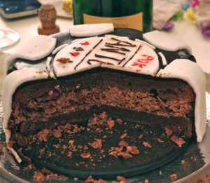 IMGP28891 300x261 Jusquau ciel?   Petite leçon de Sky High Cakes & Sky High Cake thé vert framboise