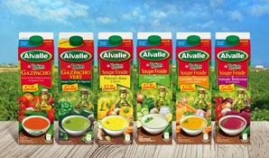 Alvalle gamme Quelques notes de soleil #1   Recettes autour des soupes froides Alvalle [Billet sponsorisé]