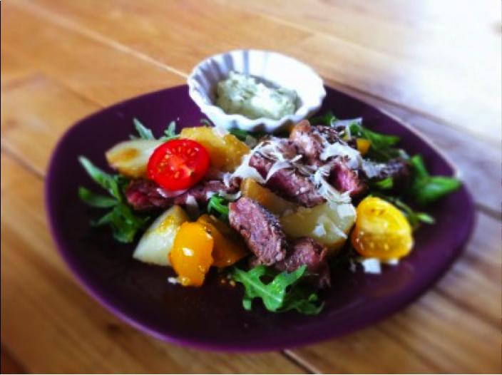 Salade tiede boeuf sauce avocat Fashion Cooking, déjà 3 ans   Les résultats des concours