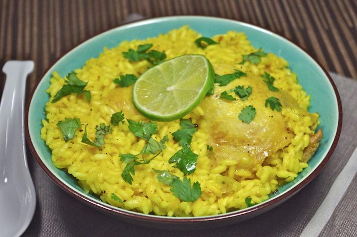riz tita poulet gingembre curcuma citron vert La coloc de Martin   Riz Tita de Martin [+ petit Test produit]