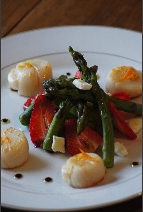 salade asperges st jacques Fashion Cooking, déjà 3 ans   Les résultats des concours