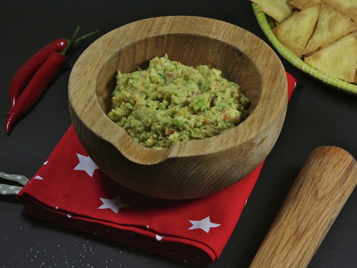 Guacamole (la vraie recette traditionnelle)