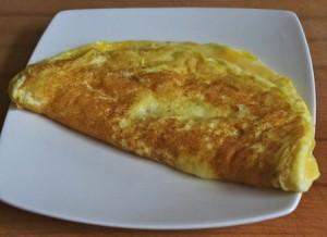 omelette baveuse