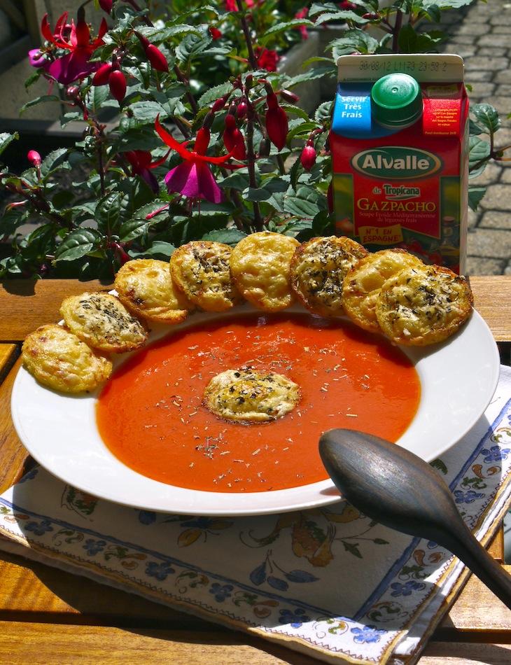 Gnocchis à la Romaine et Gazpacho