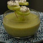 Soupe concombre piques concombres fromage frais 2 150x150 Apéro, tapas, verrines, entrées & cie