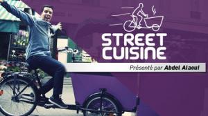 Street Cuisine Abdel Alaoui Fashion Cooking 300x168 Une rencontre gourmande incongrue (Street Cuisine avec Abdel Alaoui)   Nage de pêches à l'hibiscus