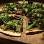 Pitza aubergine-olives