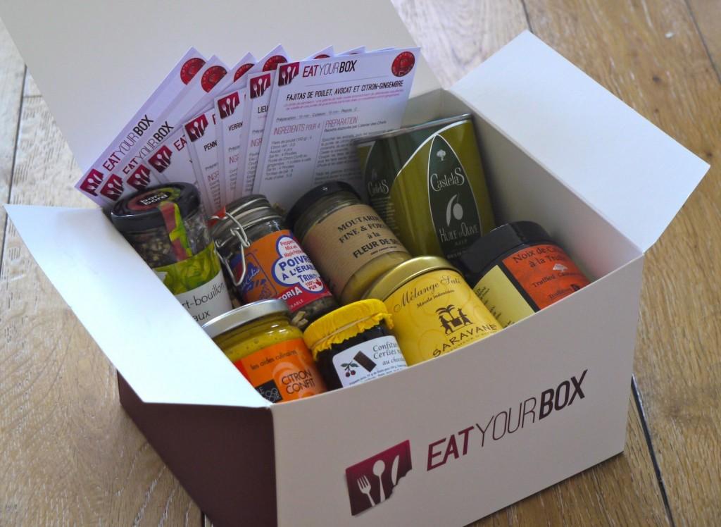 Eat Box Sept12 2 1024x748 La box culinaire Eat your Box débarque dans votre cuisine   Ouverture de abonnements demain
