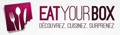 Logotagline EatyourBox La box culinaire Eat your Box débarque dans votre cuisine   Ouverture de abonnements demain