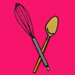 logo cuillere comments 150x150 La polenta, ça change des pâtes   Carrés de polenta & champignons crémeux au vin blanc