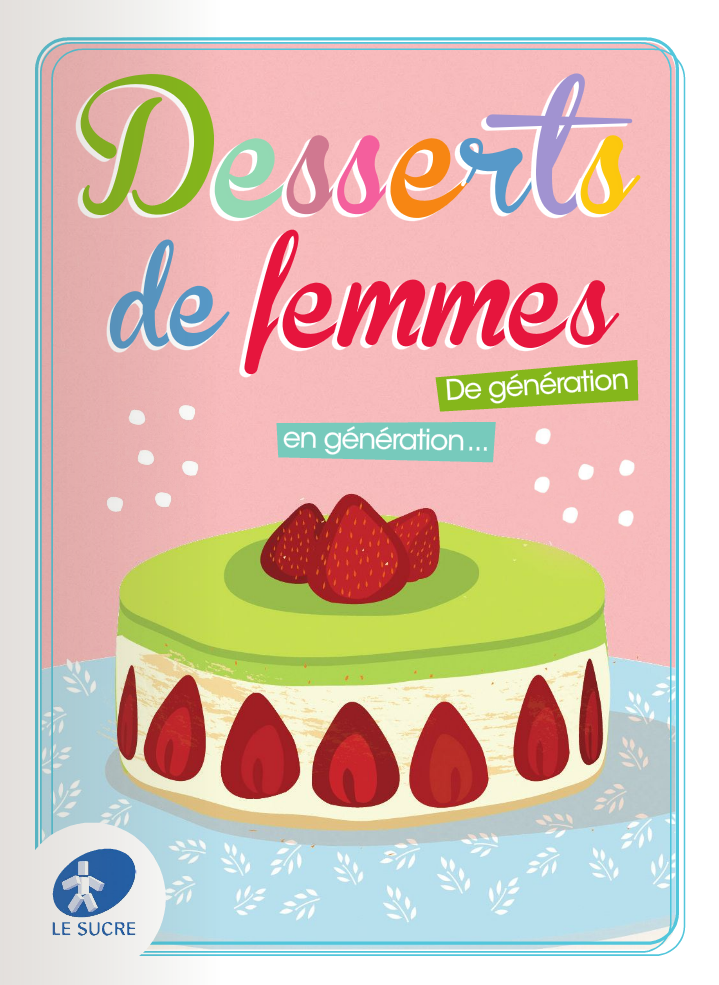 desserts de femmes La semaine du goût et souvenirs sucrés   Gâteau aux biscuits roses de Reims [Vidéo+E books inside]