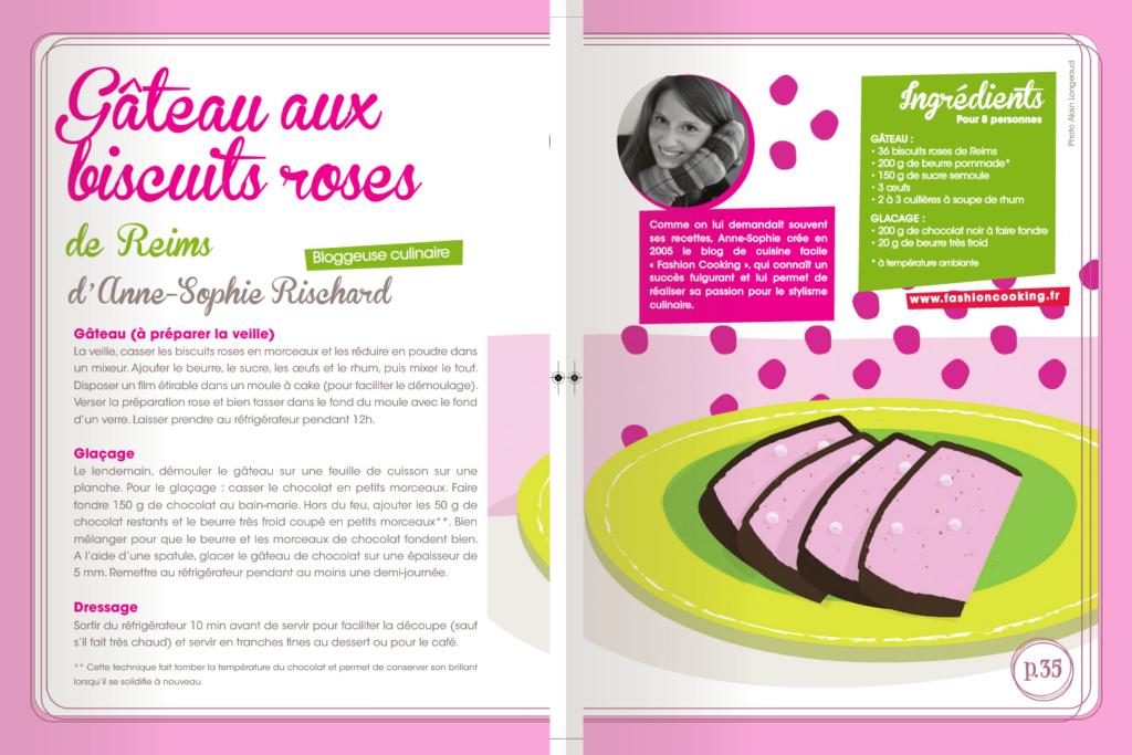 gateau biscuits roses CEDUS1 1024x683 La semaine du goût et souvenirs sucrés   Gâteau aux biscuits roses de Reims [Vidéo+E books inside]