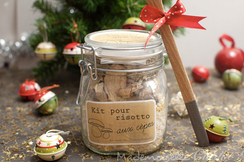 Fashion cooking kit risotto aux c pes cadeaux gourmands - Risotto noel ...