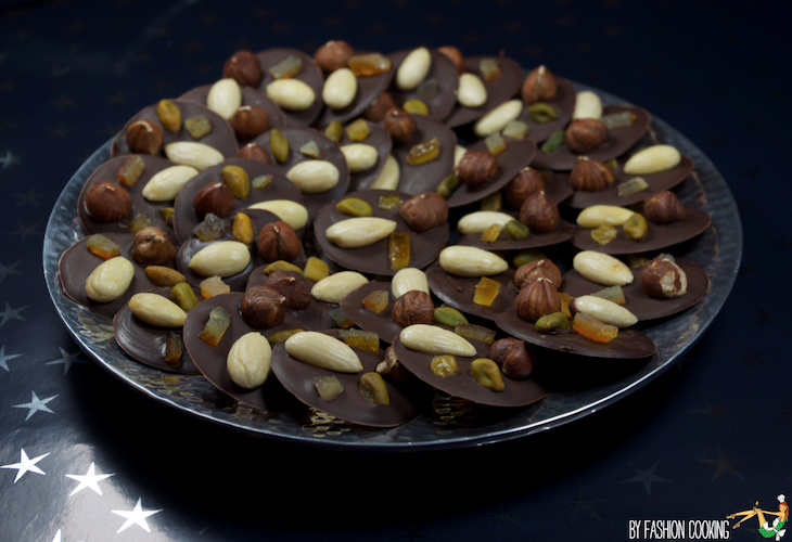 Recette mendiants chocolat classiques
