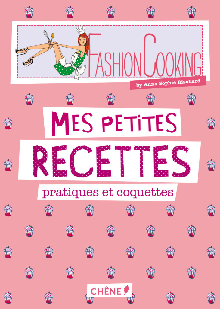 Livre Fashion Cooking Anne-Sophie