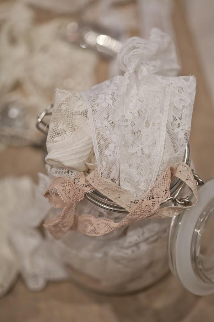 Pot dentelles mariage