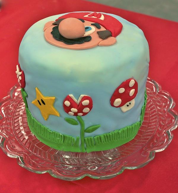Fabuleux Rainbow cake Mario Bros RV34