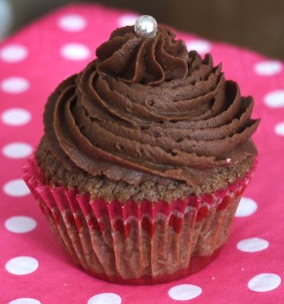 mini cupcakes tout chocolat Confession gourmande aux couleurs Fashion Cooking   Cupcakes tout chocolat & cookies trois chocolats