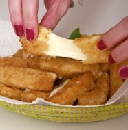 mozzarella sticks beignets mozza faciles