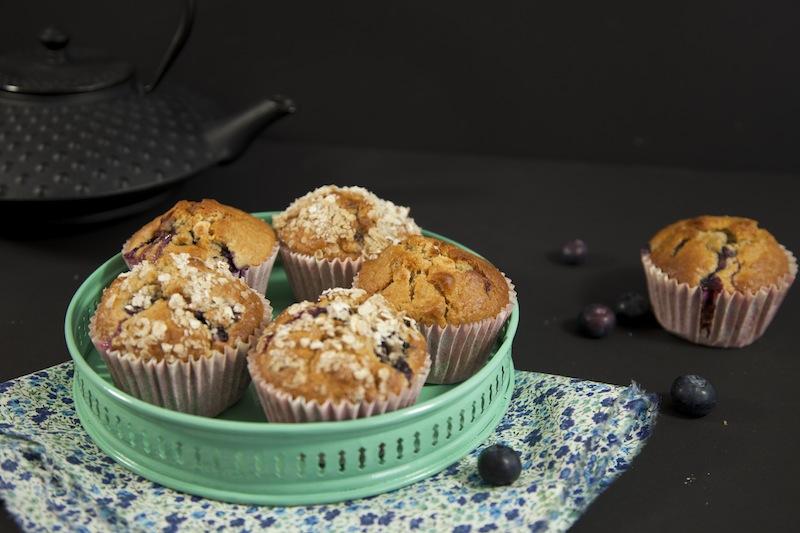 muffins blueberry macadamia chocolat blanc La mode passe...   Parfaits muffins blueberry, macadamia, chocolat blanc