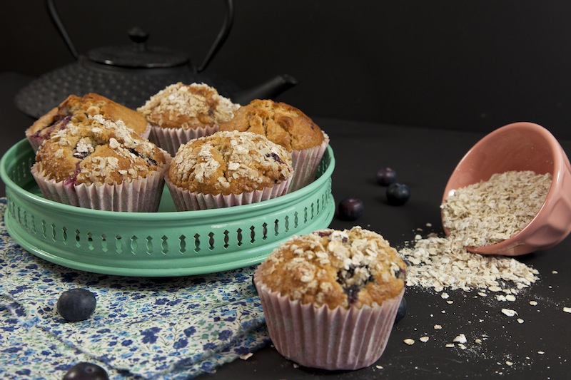 recette muffins parfait La mode passe...   Parfaits muffins blueberry, macadamia, chocolat blanc