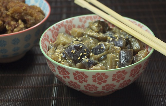 aubergines miso japonaises